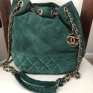 Vintage Chanel Bucket Bag